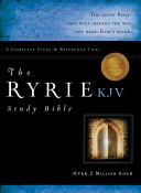 The Ryrie Kjv Study Bible Genuine Leather Black Red Letter Indexed PDF