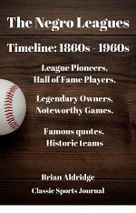 Negro Leagues Timeline: 1860s - 1960s