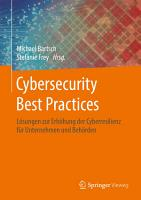 Cybersecurity Best Practices PDF