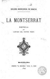 La Montserrat: novela de costums del nostre temps