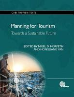 Planning for Tourism PDF