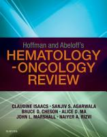 Hoffman and Abeloff s Hematology Oncology Review E Book PDF
