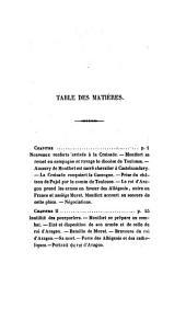 Histoire des croisades contre les Albigeois, par J.J. Barrau et B. Darragon. (Nouv. documens sur l'hist. de France aux 11e, 12e e 13e siècles).