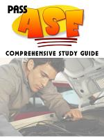 ASE Automotive Service Excellence A1-A8 exam Study Guide with 500 Questions