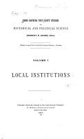 Local Institutions PDF