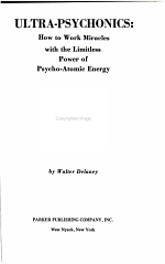 Ultra-psychonics: how to Work Miracles with the Limitless Power of Psycho-atomic Energy