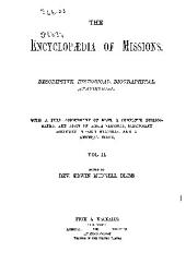 THE ENCYCLOPAEDIA OF MISSIONS