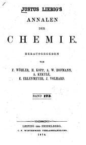 Justus Liebigs Annalen der Chemie: Bände 173-174