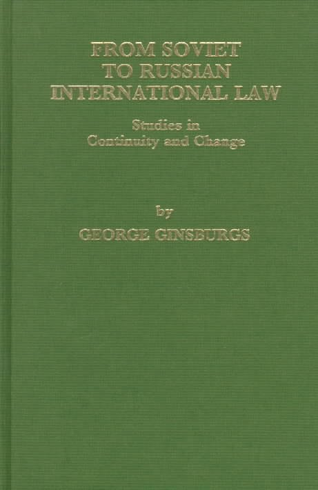 From Soviet to Russian International Law