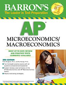 Barron s AP Microeconomics Macroeconomics Book