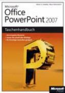Microsoft Office PowerPoint 2007   das Taschenhandbuch PDF