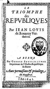 Le triomphe des républiques