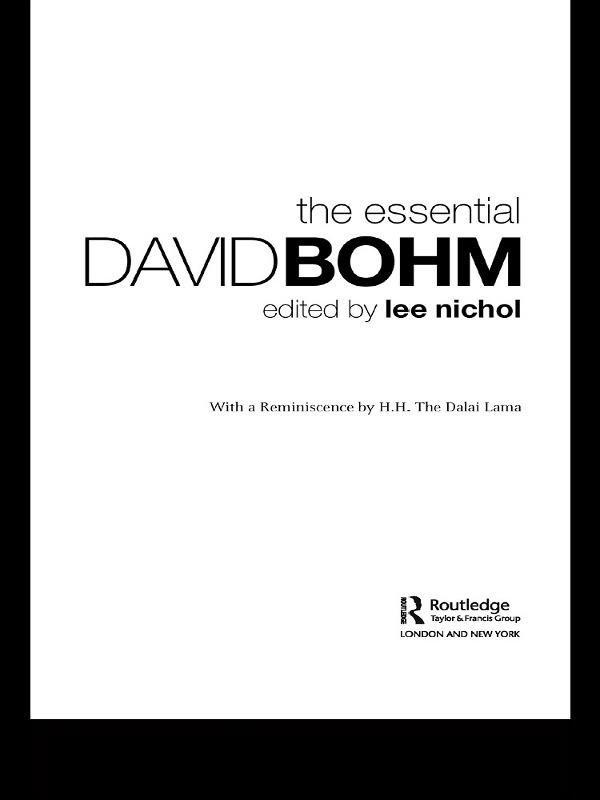 The Essential David Bohm
