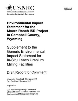 Moore Ranch ISR Project in Campbell County