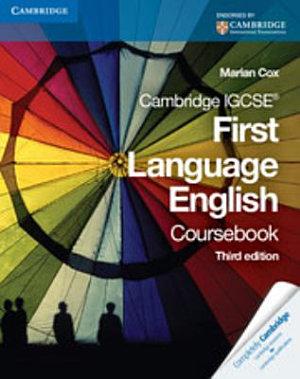 Cambridge IGCSE First Language Coursebook PDF