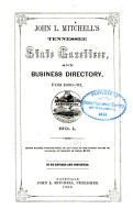 John L  Mitchell s Tennessee State Gazetteer and Business Directory PDF