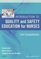 Introduction to Quality and Safety Education for Nurses PDF