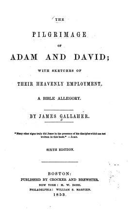 Pilgrimage of Adam and David PDF