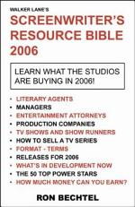 Screenwriter's Resource Bible