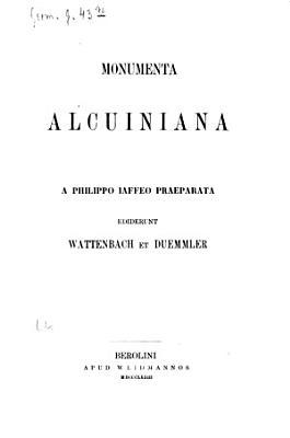 Bibliotheca rerum Germanicarum PDF