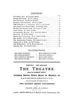 The Theatre annual  ed  by C  Scott PDF