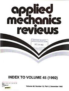 Applied Mechanics Reviews PDF