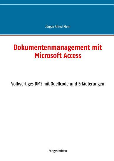 Dokumentenmanagement mit Microsoft Access PDF