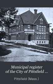Municipal Register of the City of Pittsfield ...