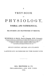 A text-book of physiology: normal and pathological. For students and practitioners of medicine