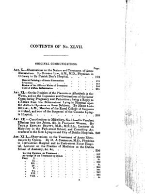 The Dublin Journal of Medical Science  1836 1845