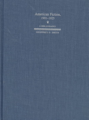 American Fiction  1901 1925