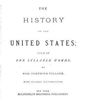 The History of the United States PDF