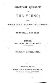 Scripture Biography for the Young: With Critical Ill. and Practical Remarks : David, Including the Life of Saul