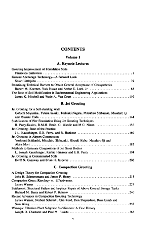Grouting  Soil Improvement  and Geosynthetics PDF