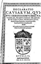 Declaratio causarum, quibus ... rex Nauarræ ... externum militem conscribere coactus est: Volume 2