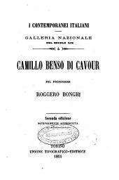 Camillo Benso di Cavour pel professore Roggero Bonghi