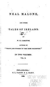 Neal Malone, and Other Tales of Ireland: Volume 2