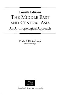 The Middle East and Central Asia PDF