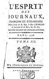 L'Esprit des journaux franc̜ais et étrangers: Volume49