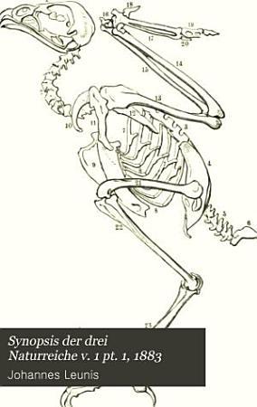 Synopsis der drei Naturreiche v  1 pt  1  1883 PDF