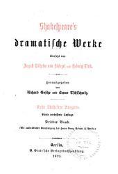Einleitungen. König Heinrich der Achte. Ein Sommernachtstraum. Romeo und Julia. Julius Cäsar. Was ihr wollt