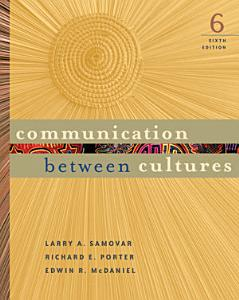 Communication Between Cultures Book