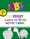 My First Learn to Write Activity Book