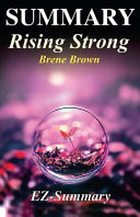 Summary   Rising Strong Book