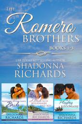 The Romero Brothers Boxed Set (Books 1-3)