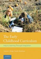 The Early Childhood Curriculum PDF