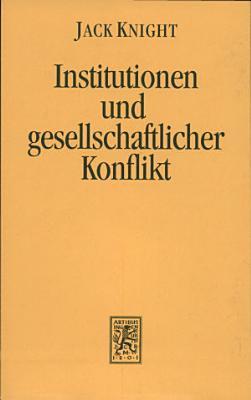 Institutionen und gesellschaftlicher Konflikt PDF