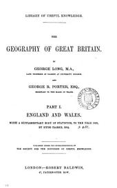 The geography of Great Britain, by G. Long and G.R. Porter
