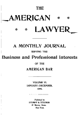 The American Lawyer: Volume 6
