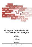 Biology of Invertebrate and Lower Vertebrate Collagens PDF